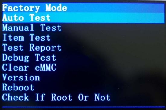 Setel ulang setting ke pabrik android karakter cina  Mode