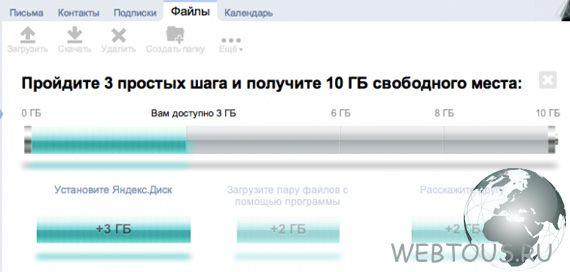 Yandex Dix  Yandex Disk - storage of files