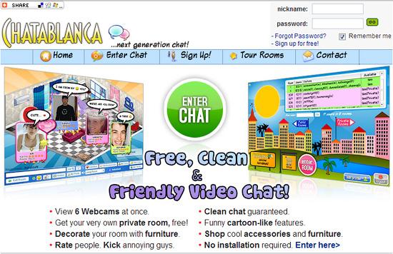 Sa online strancima chat Omegle Chat